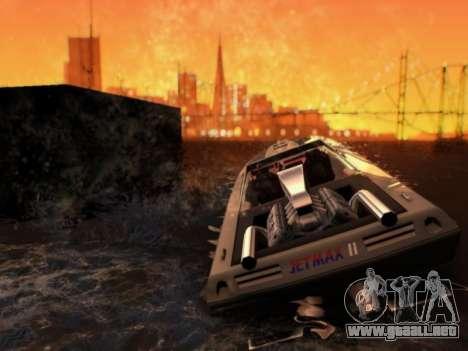 El Herp ENB FINAL para alta y media de la PC para GTA San Andreas segunda pantalla