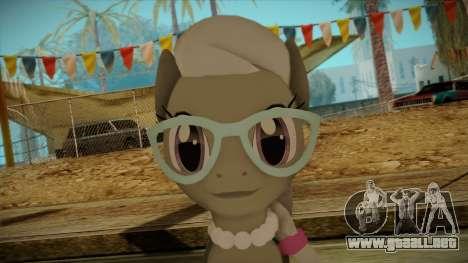 Silverspoon from My Little Pony para GTA San Andreas tercera pantalla