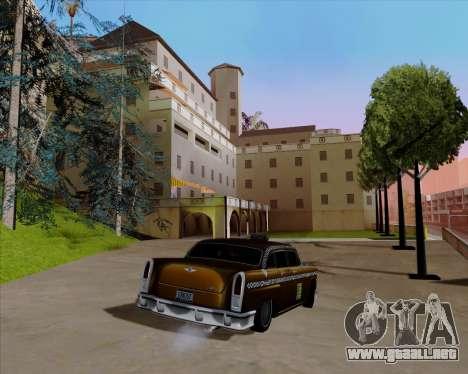 Borgnine para GTA San Andreas vista hacia atrás