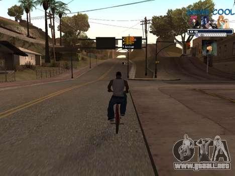 Anime C-HUD para GTA San Andreas tercera pantalla