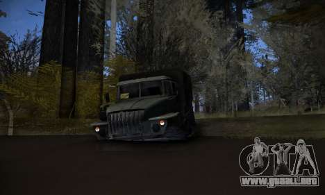 Pista de off-road 2.0 para GTA San Andreas quinta pantalla