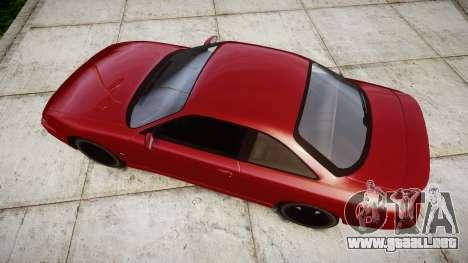 Nissan Silvia S14 200SX para GTA 4 visión correcta