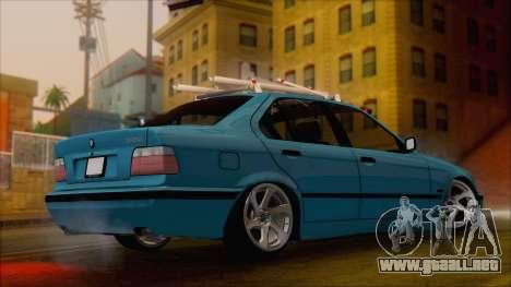 BMW 320i E36 para GTA San Andreas left