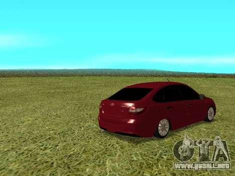 Lada Granta Kalina 2 para la visión correcta GTA San Andreas