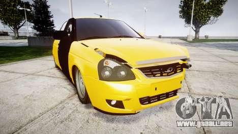 VAZ-Lada 2170 Priora de hobo para GTA 4