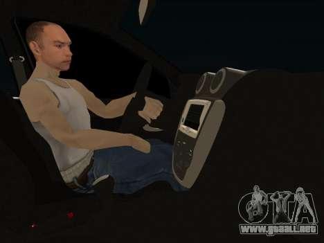 Lada Granta Kalina 2 para visión interna GTA San Andreas