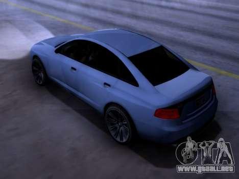 Obey Tailgater GTA V para GTA San Andreas left