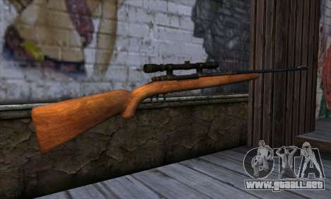 Sniper Rifle from The Walking Dead para GTA San Andreas segunda pantalla