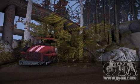 Pista de off-road 2.0 para GTA San Andreas séptima pantalla
