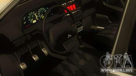 VAZ 2114 para GTA San Andreas vista posterior izquierda