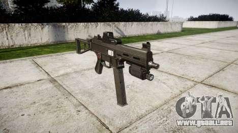 Alemán subametralladora HK UMP 45 para GTA 4
