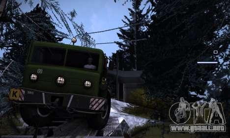 Pista de off-road 2.0 para GTA San Andreas segunda pantalla