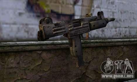 Uzi из Call of Duty Black Ops para GTA San Andreas segunda pantalla