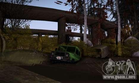 Pista de off-road 2.0 para GTA San Andreas sucesivamente de pantalla