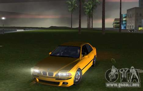 BMW M5 E39 para GTA Vice City visión correcta