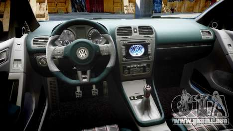 Volkswagen Golf GTI 2010 para GTA 4 vista interior