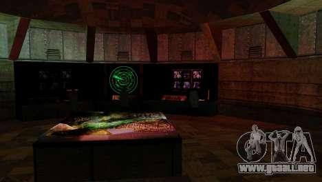 Zona de recuperación 69 para GTA San Andreas novena de pantalla