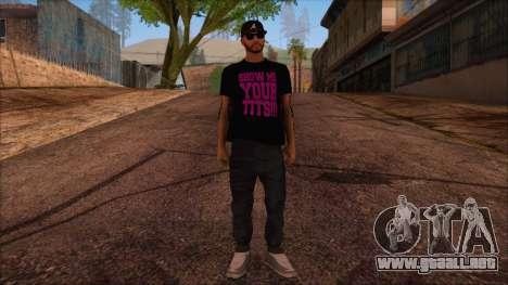 GTA 5 Online Skin 12 para GTA San Andreas