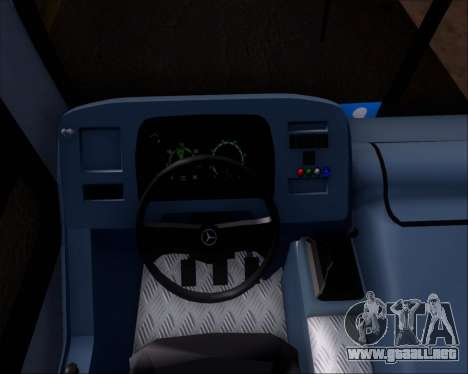 Marcopolo Torino G7 2007 Mercedes-Benz OF-1722M para visión interna GTA San Andreas