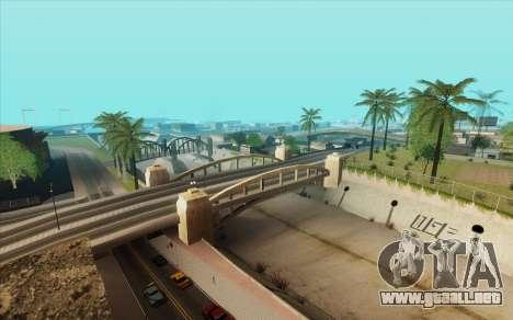 ENB para baja de PC (SAMP) para GTA San Andreas quinta pantalla