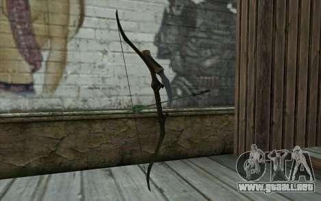 Green Arrow Bow v1 para GTA San Andreas segunda pantalla