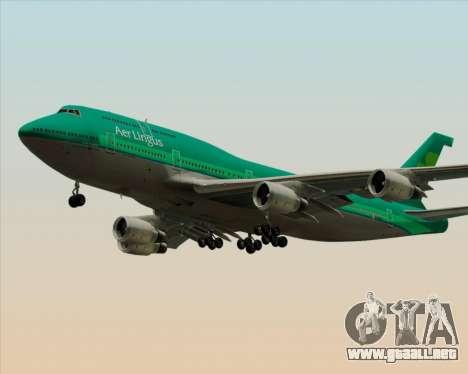 Boeing 747-400 Aer Lingus para las ruedas de GTA San Andreas