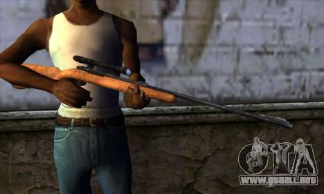 Sniper Rifle from The Walking Dead para GTA San Andreas tercera pantalla