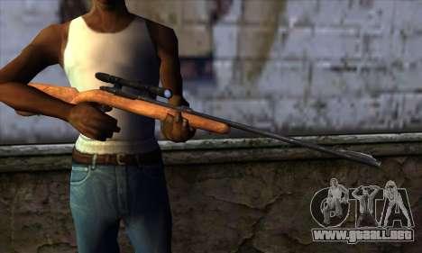 Sniper Rifle from The Walking Dead para GTA San Andreas tercera pantalla