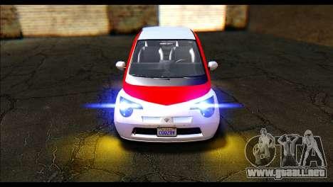 GTA 5 Benefactor Panto IVF para la visión correcta GTA San Andreas