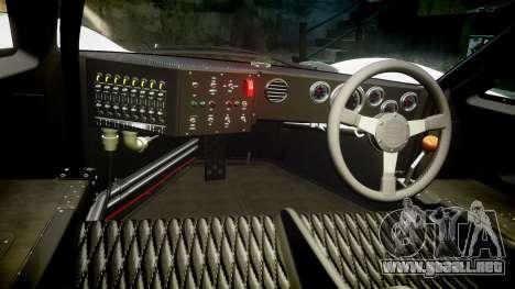 Ford GT40 Mark IV 1967 PJ Campbell 5 para GTA 4 vista hacia atrás