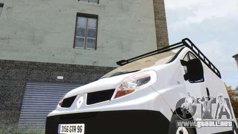 Renault Trafic para GTA 4 left