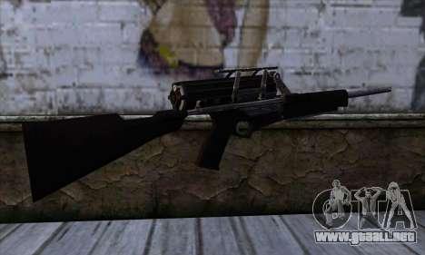 Calico M951S from Warface v1 para GTA San Andreas segunda pantalla