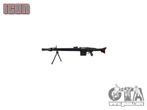 Alemán ametralladora MG3 icon2 para GTA 4 tercera pantalla