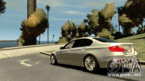 BMW 525 F10 para GTA 4 left
