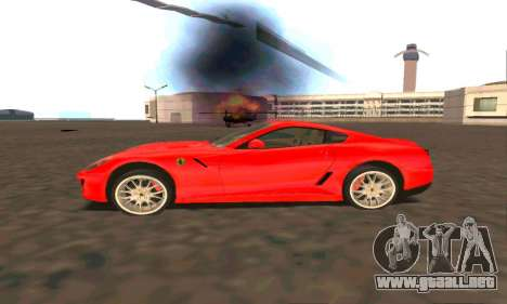 Ferrari 599 Beta v1.1 para GTA San Andreas left