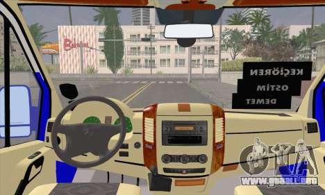 Mercedes-Benz Sprinter Ostim Dolmus para la visión correcta GTA San Andreas