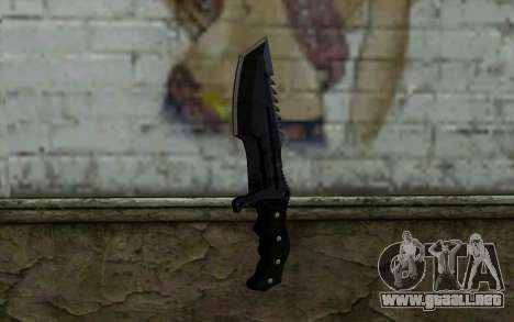 Knife from COD: Ghosts v2 para GTA San Andreas