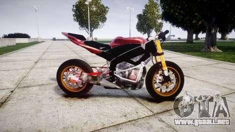 Yamaha YZF-R6 Stunt para GTA 4 left