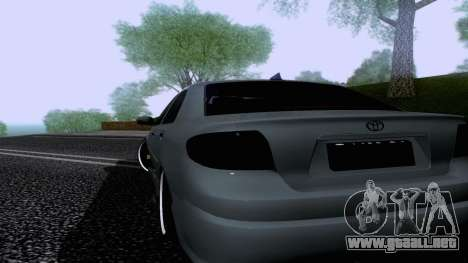 Toyota Vios Extreme Edition para GTA San Andreas left