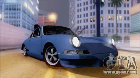 Porsche 911 Carrera 1973 Tunable KIT A para GTA San Andreas