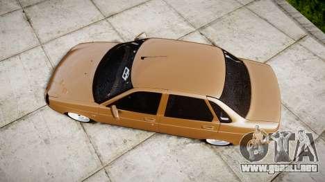 ВАЗ-2170 Instalado Priora de Calidad para GTA 4 visión correcta
