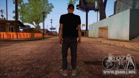 GTA 5 Online Skin 12 para GTA San Andreas segunda pantalla