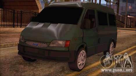 Ford Transit para GTA San Andreas