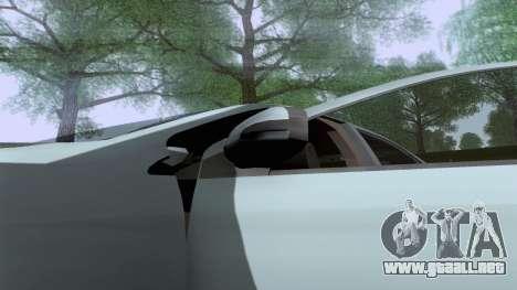Toyota Vios Extreme Edition para la visión correcta GTA San Andreas