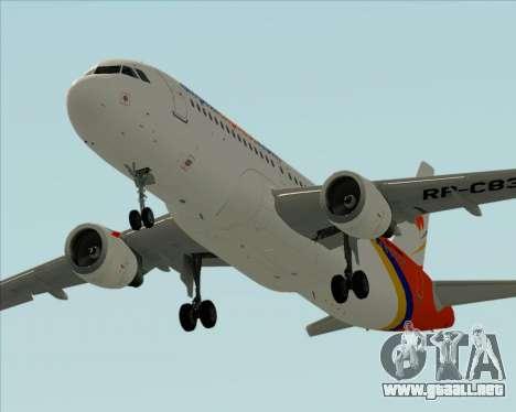 Airbus A320-200 Airphil Express para el motor de GTA San Andreas