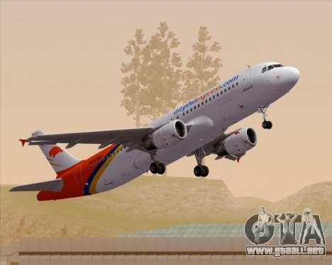 Airbus A320-200 Airphil Express para GTA San Andreas