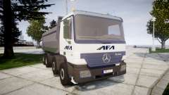 Mercedes-Benz Actros AFA para GTA 4