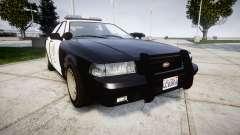 GTA V Vapid Police Cruiser Rotor para GTA 4