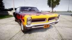 Pontiac GTO 1965 Flames para GTA 4