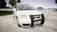 Dodge Grand Caravan [ELS] Liberty County Sheriff para GTA 4